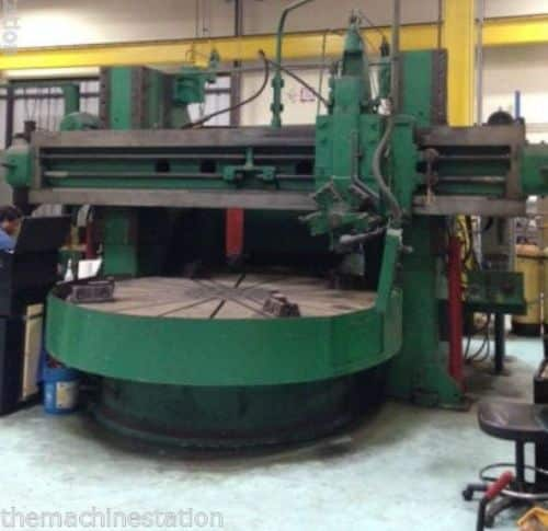 Betts 120 VTL Vertical Turning Lathe