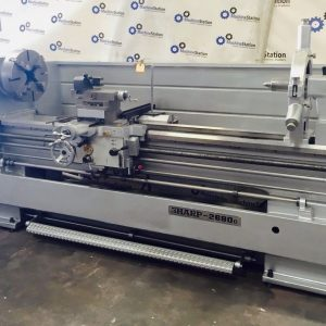 USED-SHARP GAP BED ENGINE LATHE Model 2680G