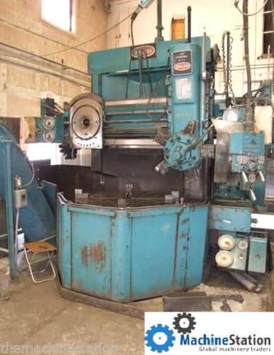 Bullard Dynatrol 46inch Vertical Boring Mill Machinestation
