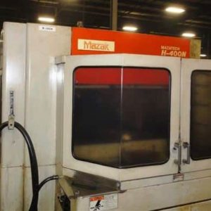 MAZAK H 400N 4 Axis Horizontal Machining Center