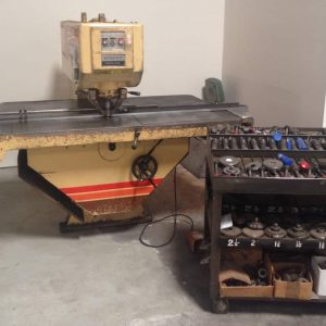 HOUDAILLE STRIPPIT SINGLE END PUNCH PRESS