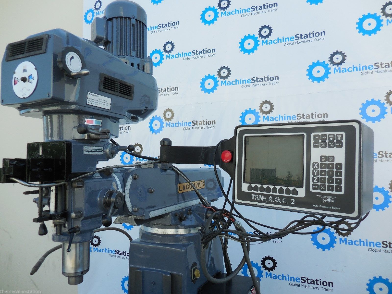 two axis cnc machine