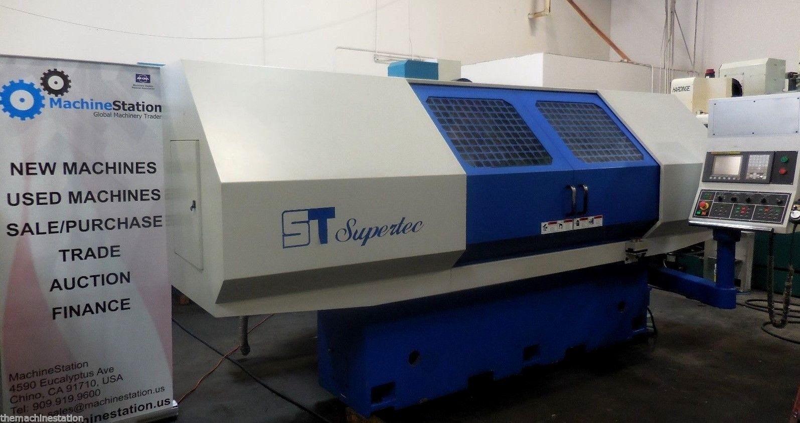 Supertec G32P-60 CNC Cylindrical Grinder USED
