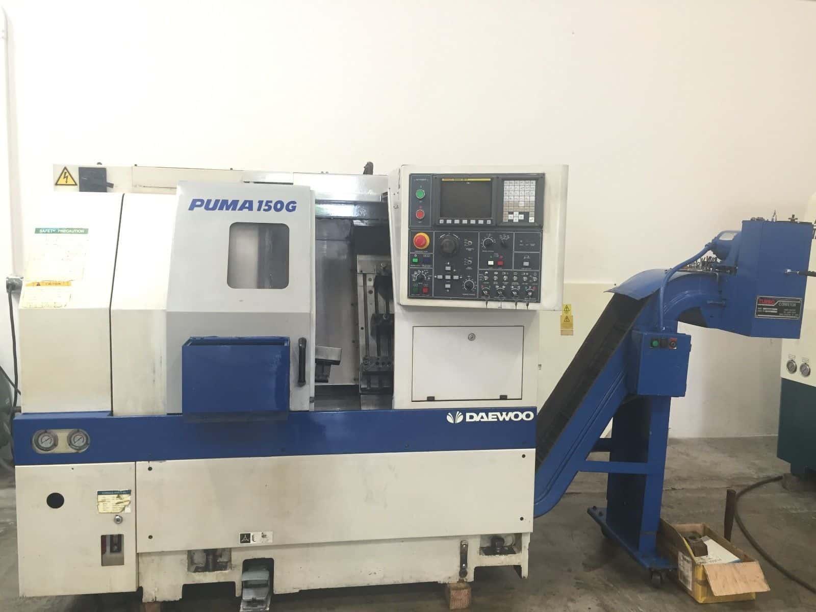 DAEWOO 150G CNC GANG LATHE - MachineStation