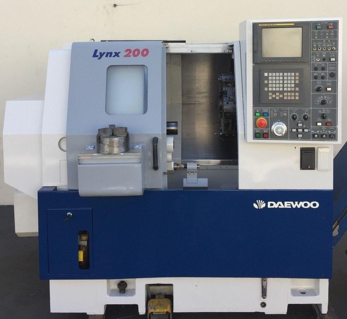Daewoo Lynx 200 A CNC Turning Center - MachineStation