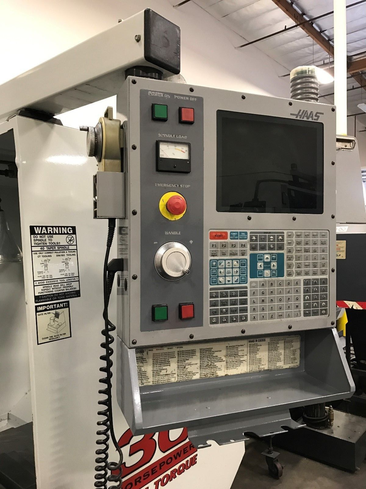 Haas Vf5 Vertical Machining Center For Sale In California