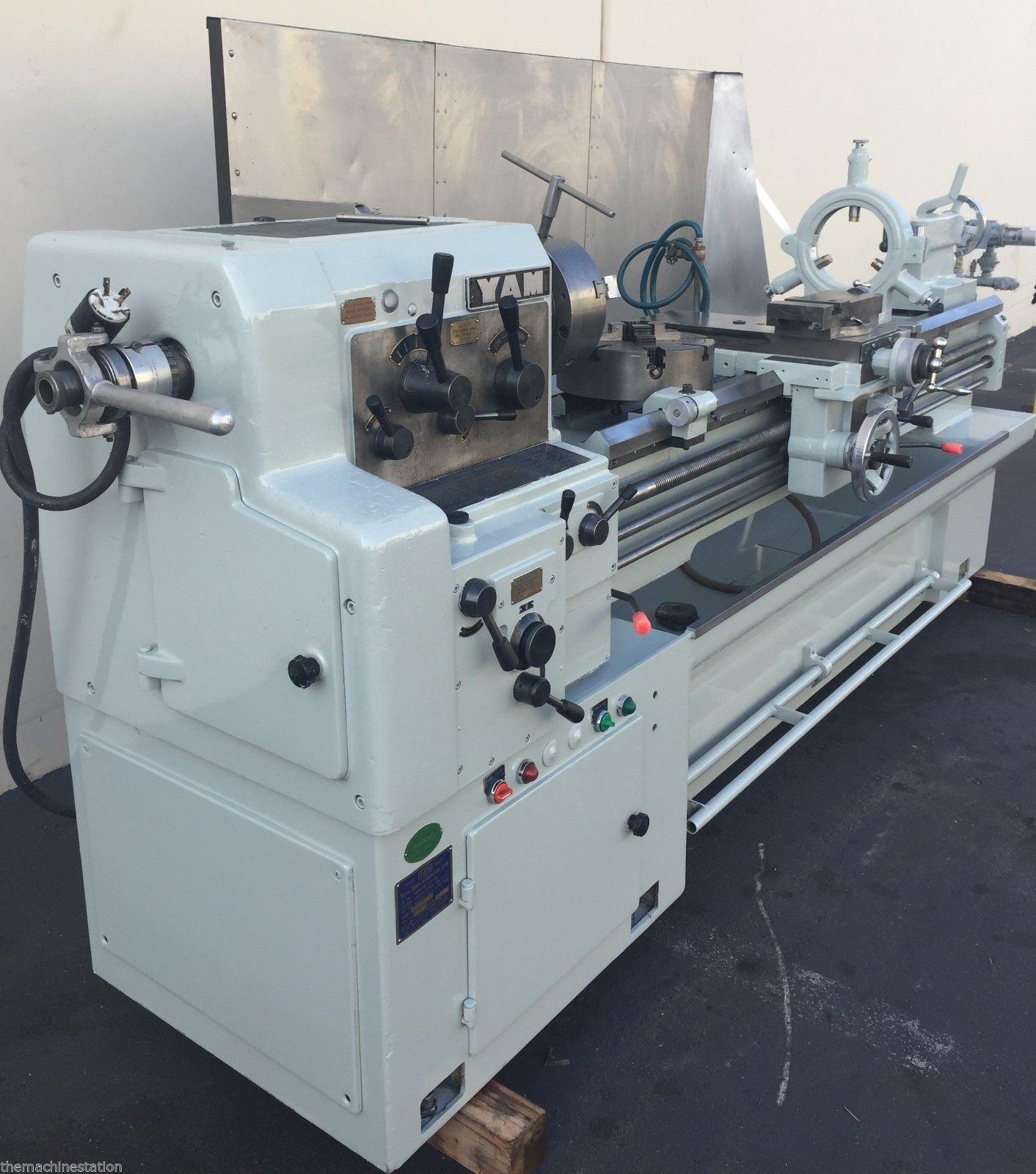 Yam 1500g Geared Head Engine Lathe Machinestation