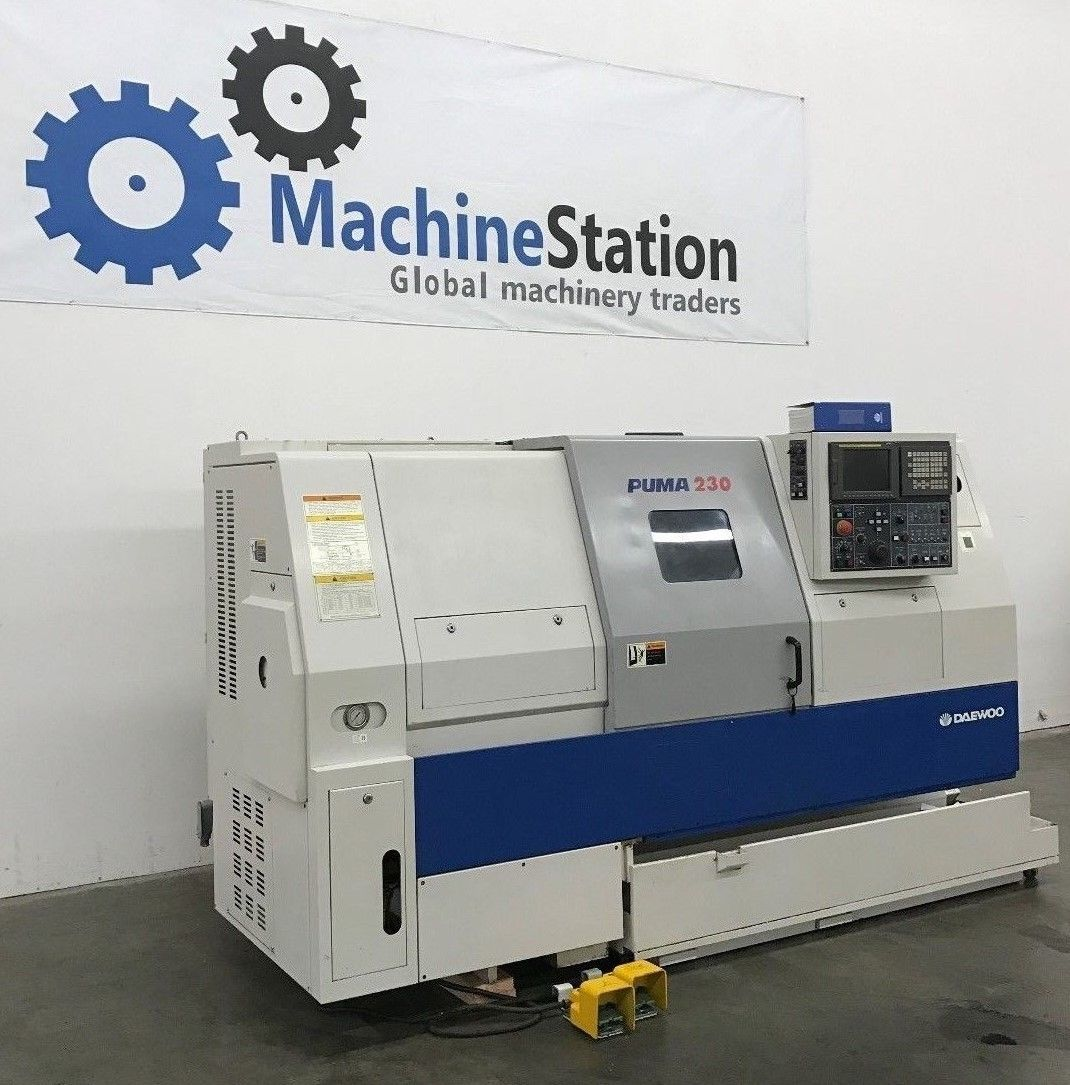 daewoo puma 230c cnc turning center machinestation rh machinestation us daewoo puma 8s manual daewoo puma 10s manual