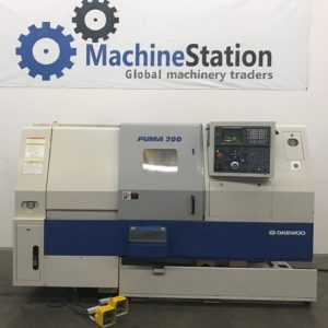 DAEWOO PUMA 200C CNC TURNING