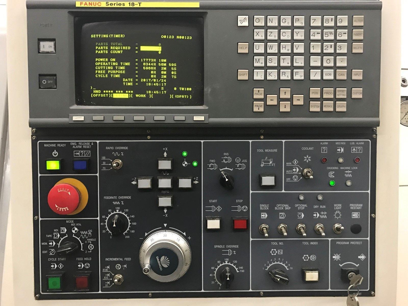 Daewoo Puma 200c Cnc Turning Center Lathe Machinestation
