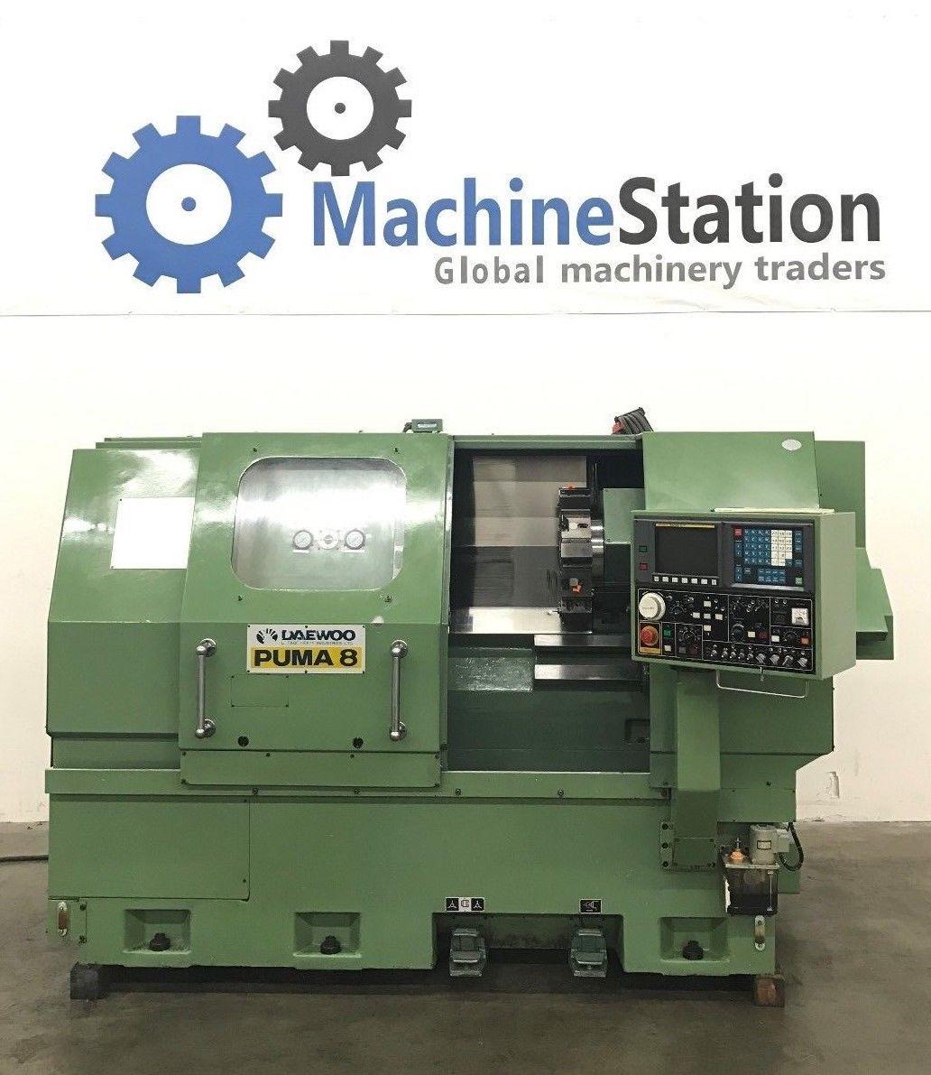 auditoría Juramento Increíble  Daewoo Puma 8 CNC Turning Center - MachineStation