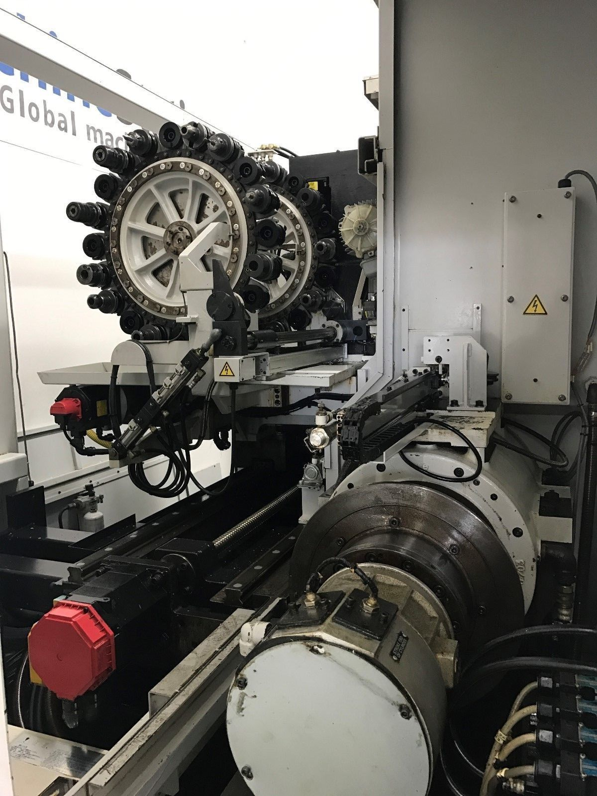 Hitachi Seiki Hicell Ch 250 5axis Turning Center