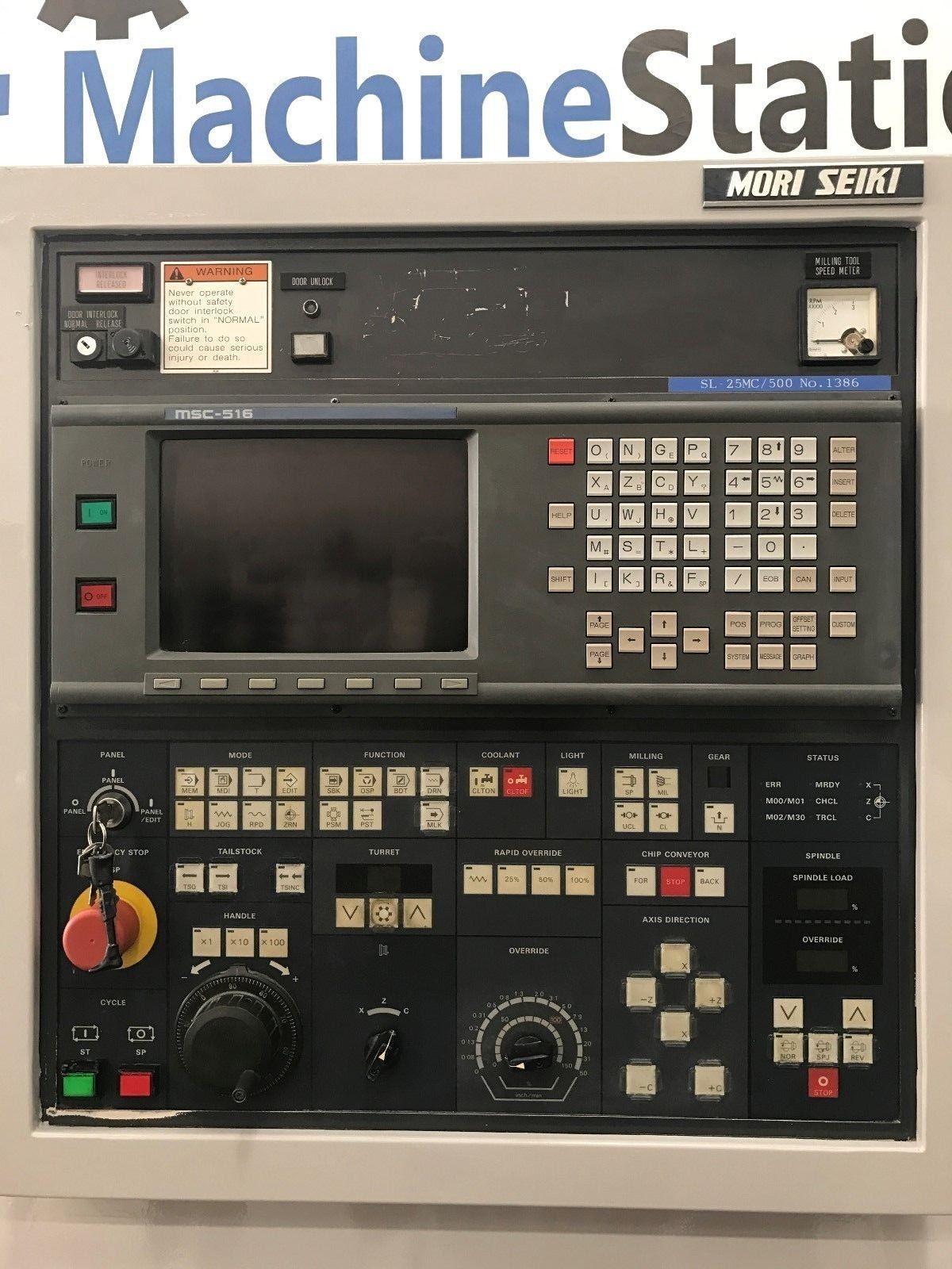 Mori Seiki Sl 25mc Cnc Turn Mill Center Machinestation