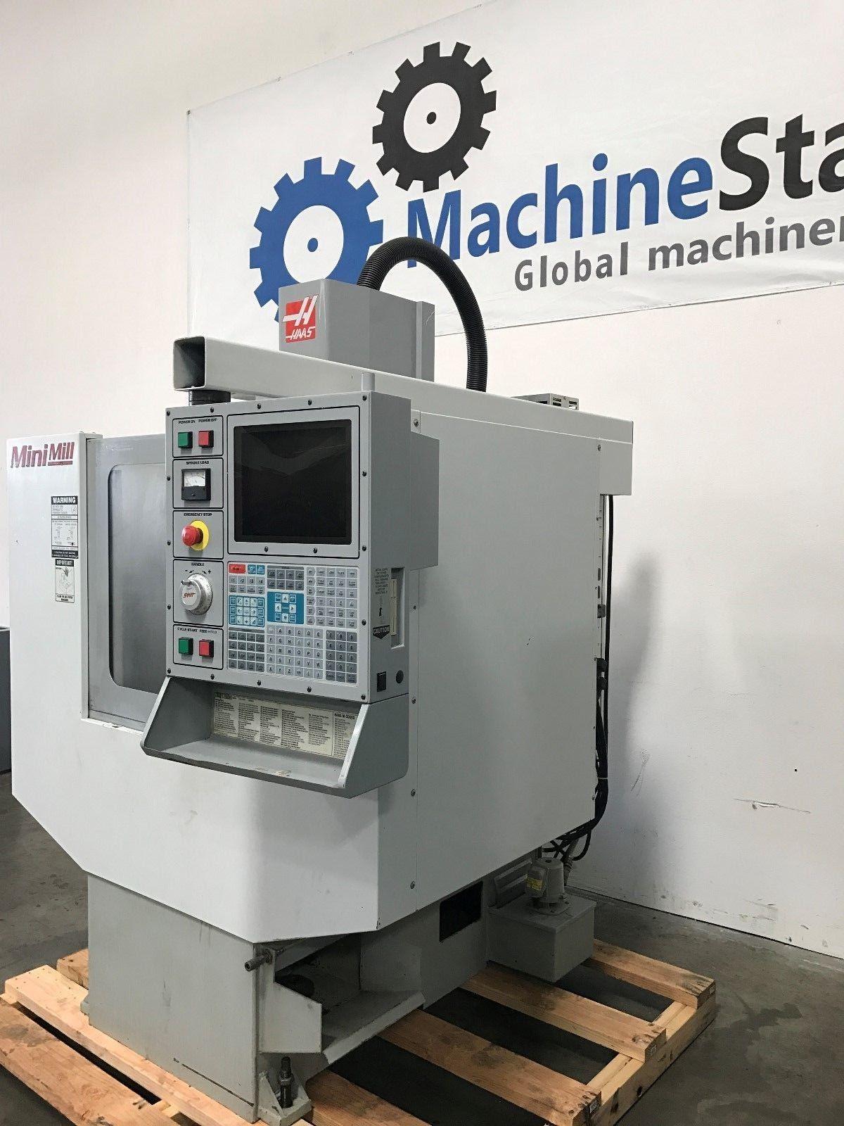 Haas Mini Mill Vmc 4th Axis Ready Machinestation