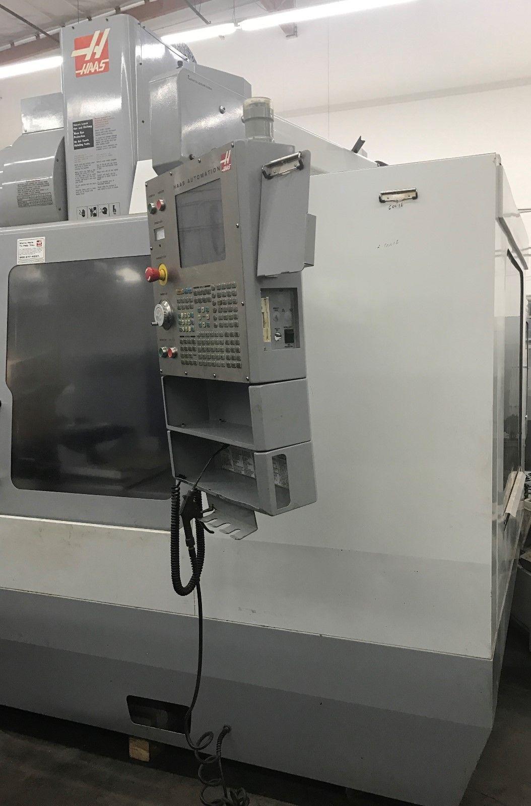 Haas Vf 6d 40 Vmc 4th Axis Ready Machinestation
