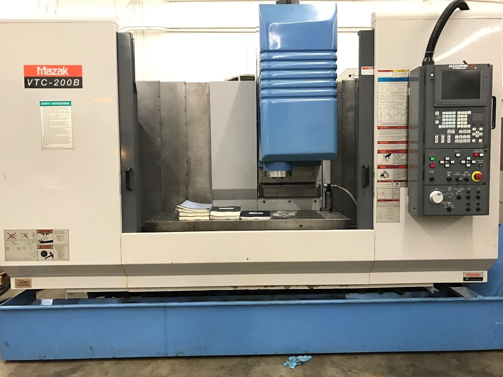... used-mazak-200b-vertical-machining-center ...