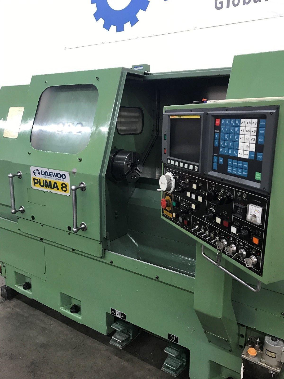 Daewoo Puma 8 CNC Turning Center - MachineStation