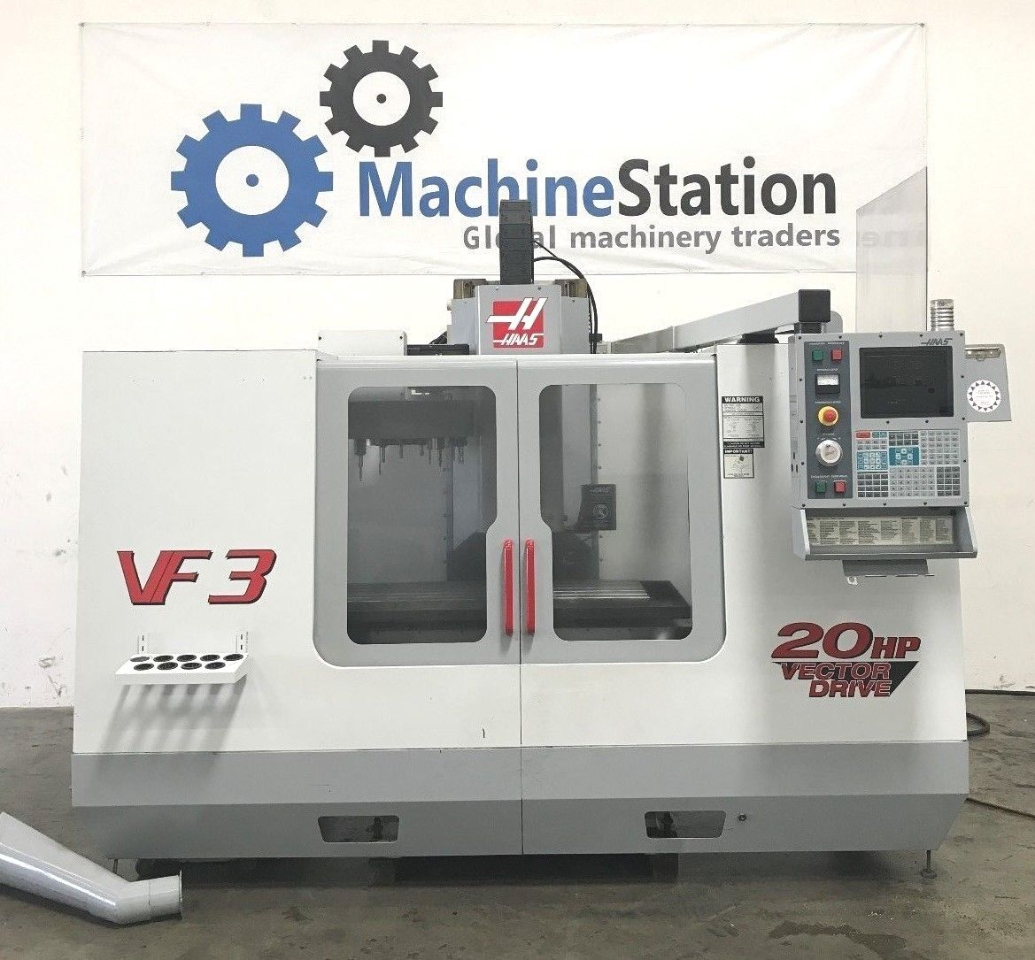 Haas VF-3B VMC 4TH Axis Ready - MachineStation