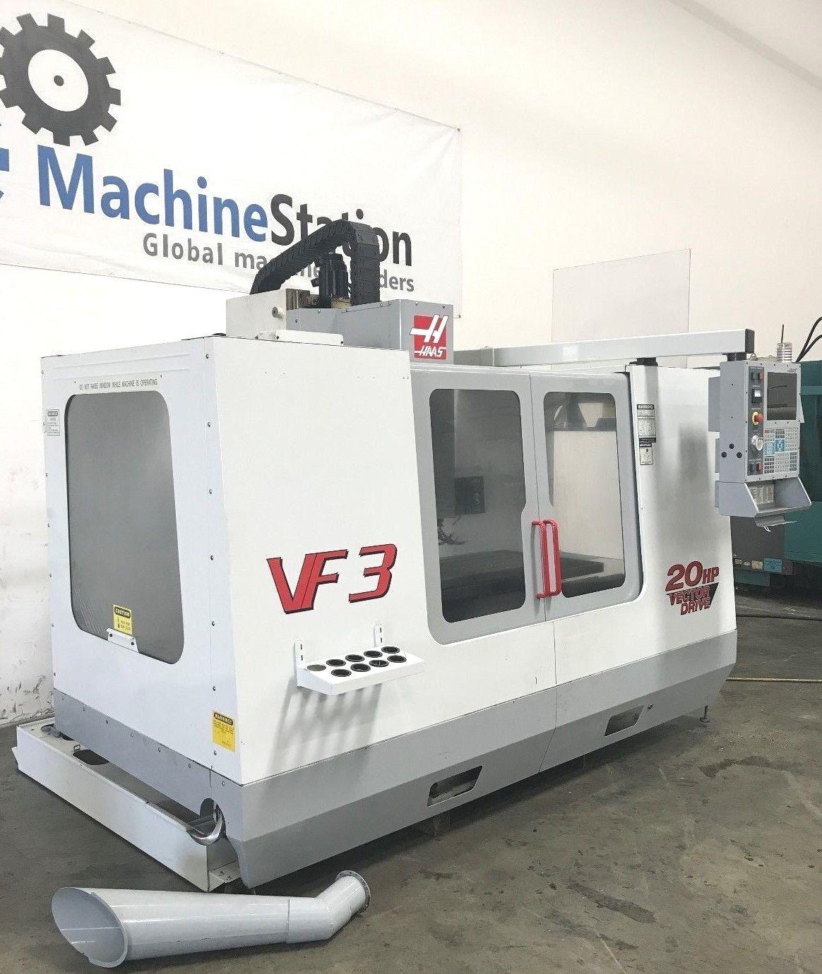 Haas VF-3B VMC 4TH Axis Ready - MachineStation