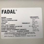 fadal-vmc-model-4020fx