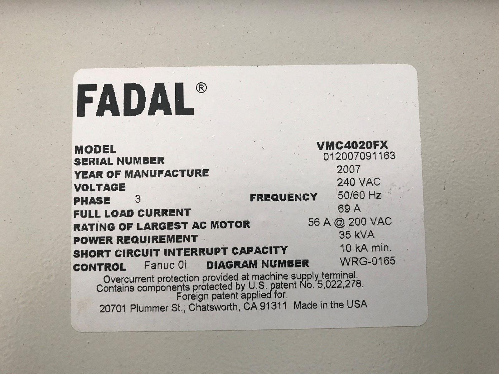 fadal vmc 4020 fx manual