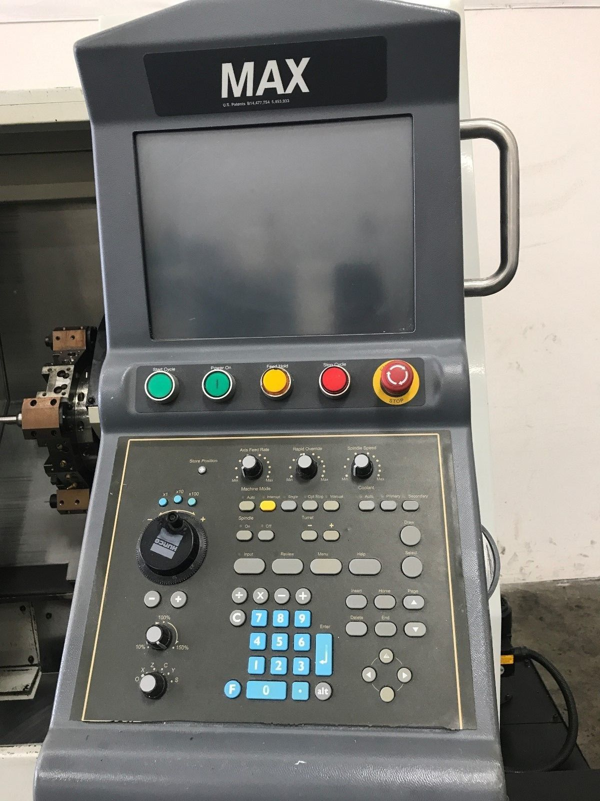 Hurco Tm6 Cnc Turning W Tailstock Machinestation