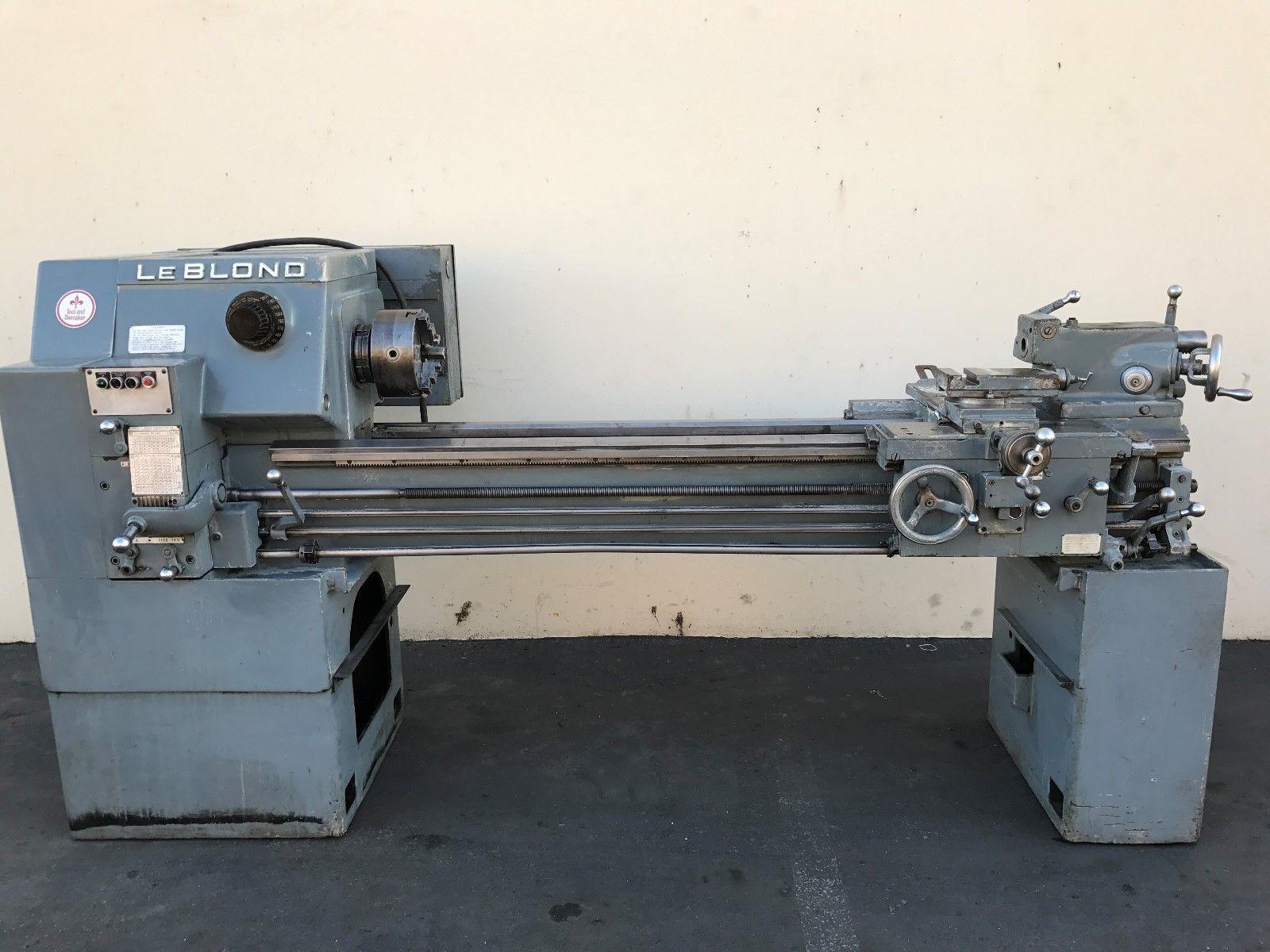 leblond tool die maker  geared head engine lathe machinestation