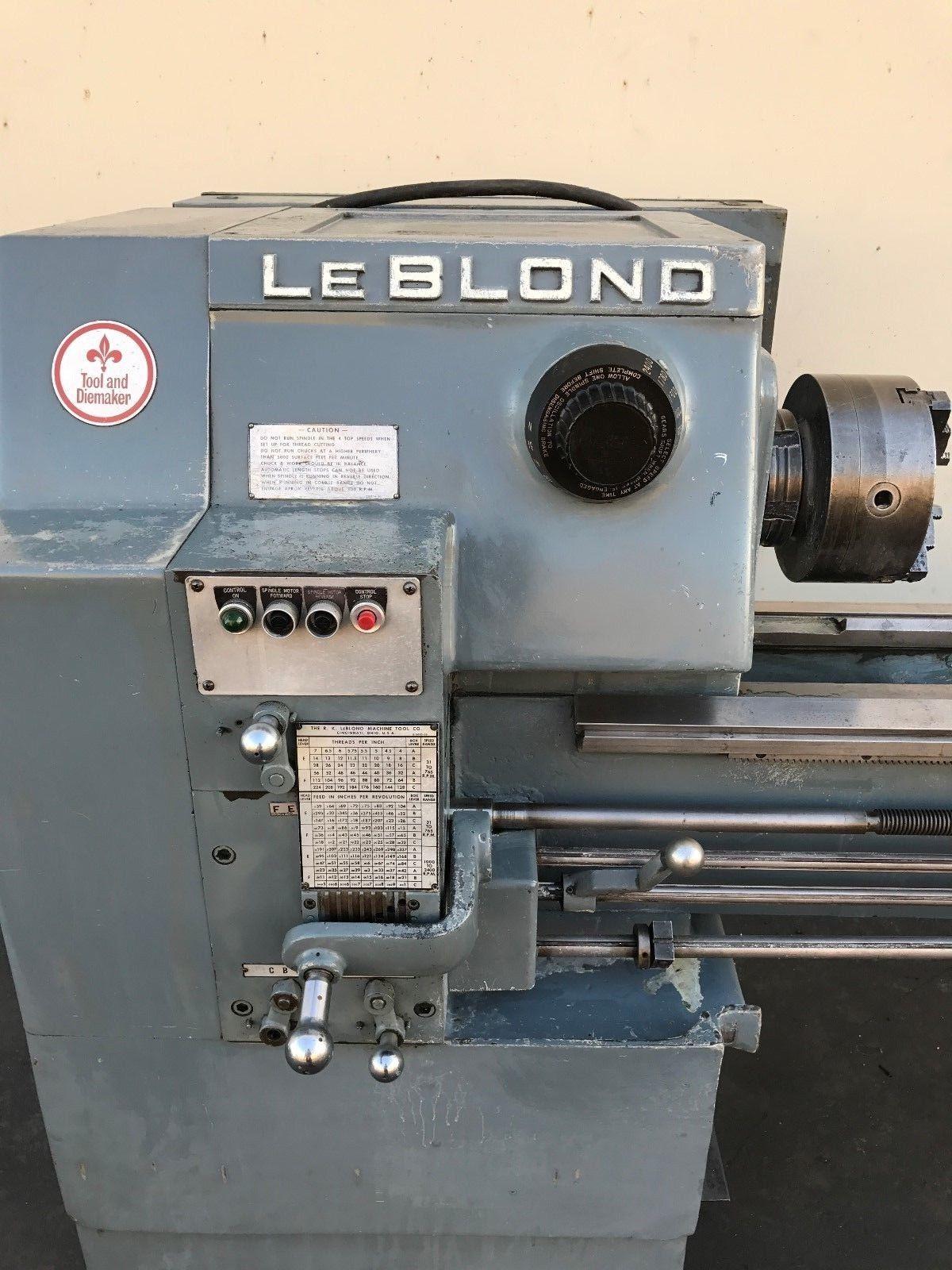 Leblond Tool Die Maker 14X54 Geared Head Engine Lathe
