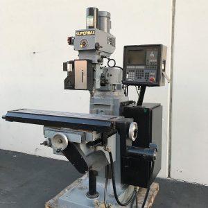 Supermax YCM-12 9X50 CNC Vertical MillingSUPERMAX YCM-12 9X50