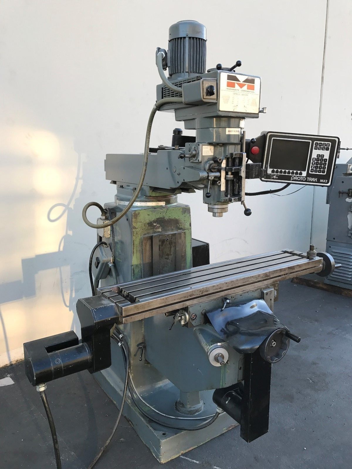 Machinist Dynapower 10x50 Cnc Vertical Milling