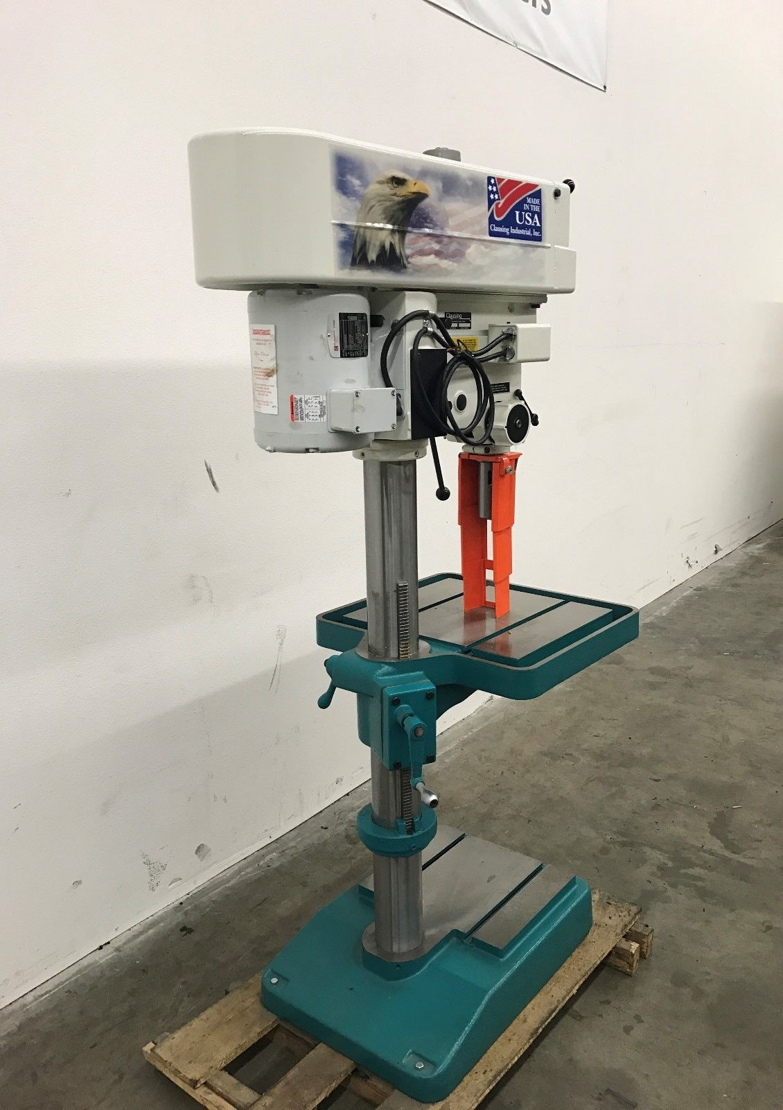 "NEW Clausing # 2274 20"" Variable Speed Floor Drill Press ..."