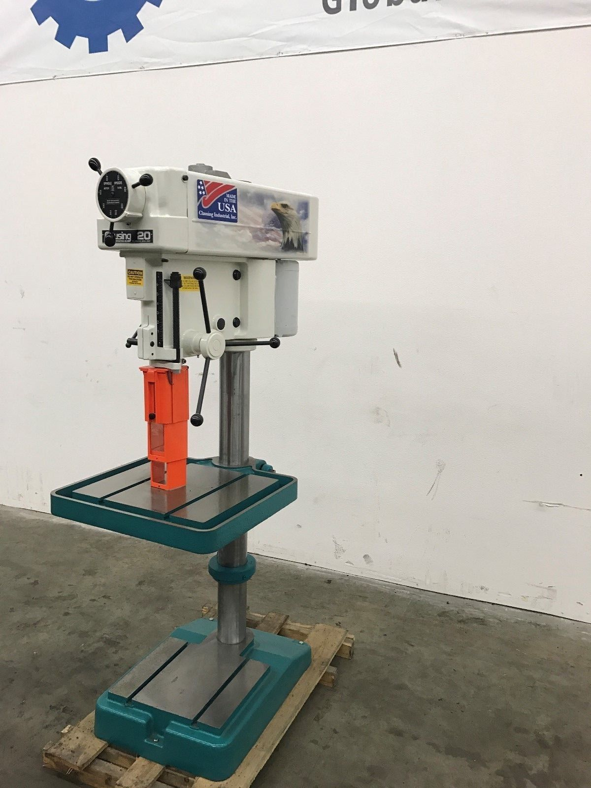 New Clausing 2274 20 Quot Variable Speed Floor Drill Press