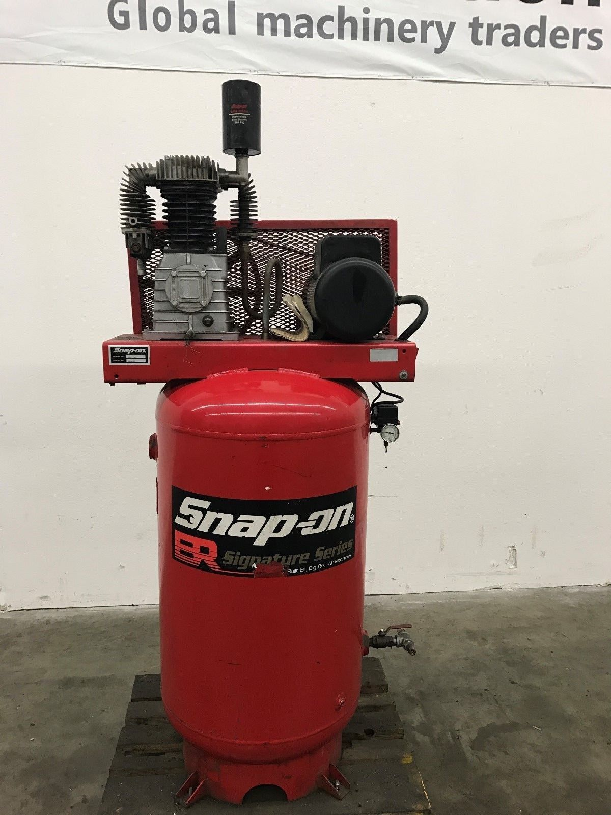 Snap On Bra 7180v Air Compressor Machinestation