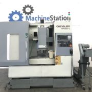 Used CHEVALIER QP-2033L VERTICAL MACHINING CENTER a