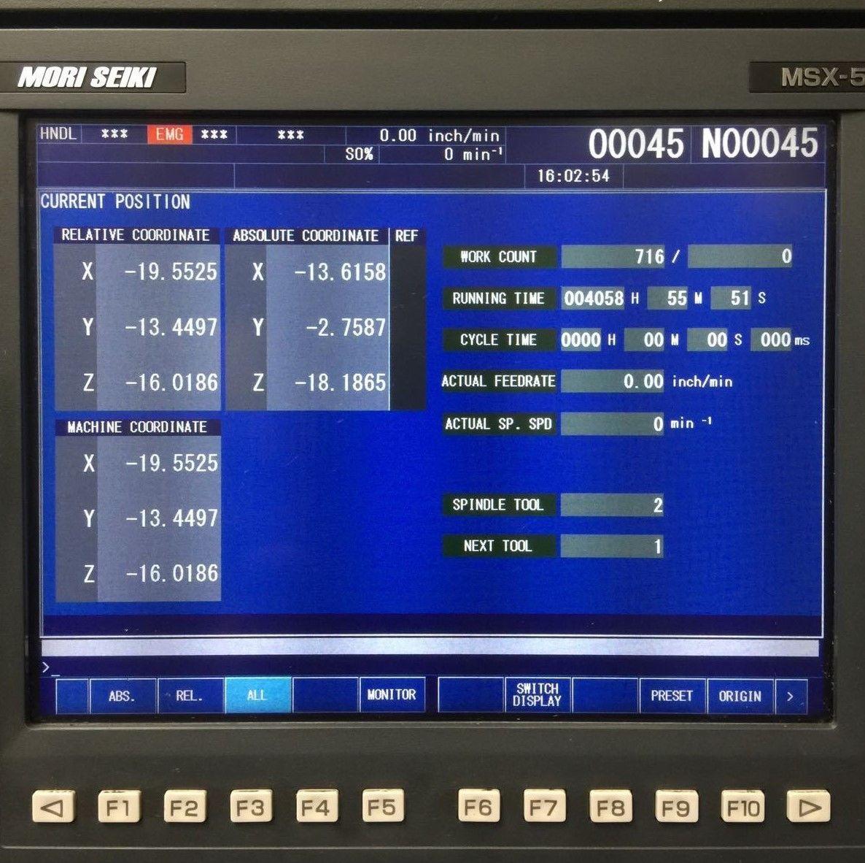 mori seiki sv 503b vertical machining center machinestation rh machinestation us Mori-Seiki Manuals PDF Mori-Seiki Lathe Manual