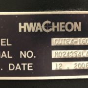 Hwacheon Cutex 160A CNC Turning Center b