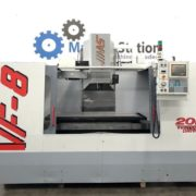 Used Haas VF-8 CNC Vertical Machining Center USA Main a
