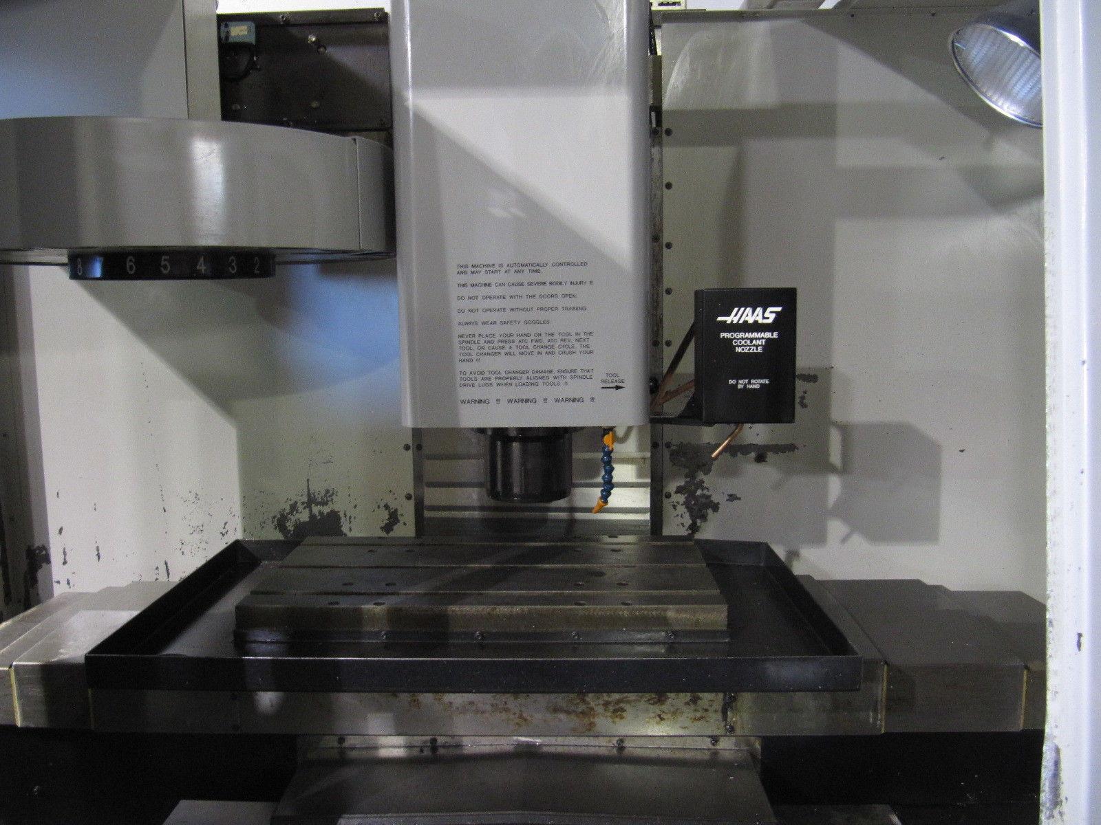 HAAS VF-0 CNC Vertical Mill - MachineStation
