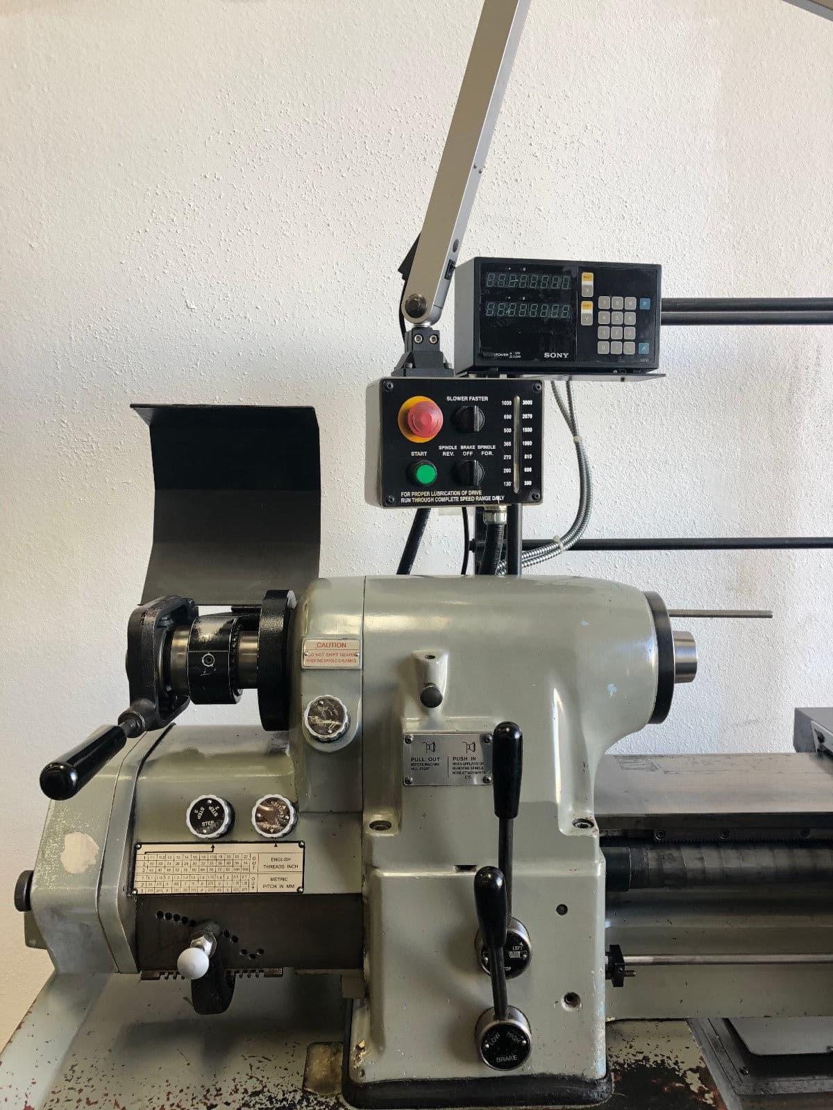 Sharp 1118h Precision Lathe Machinestation