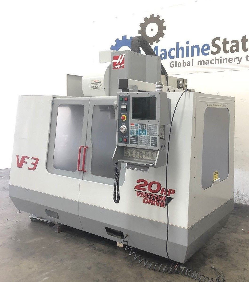 HAAS VF-3B CNC Vertical Machining Center - MachineStation