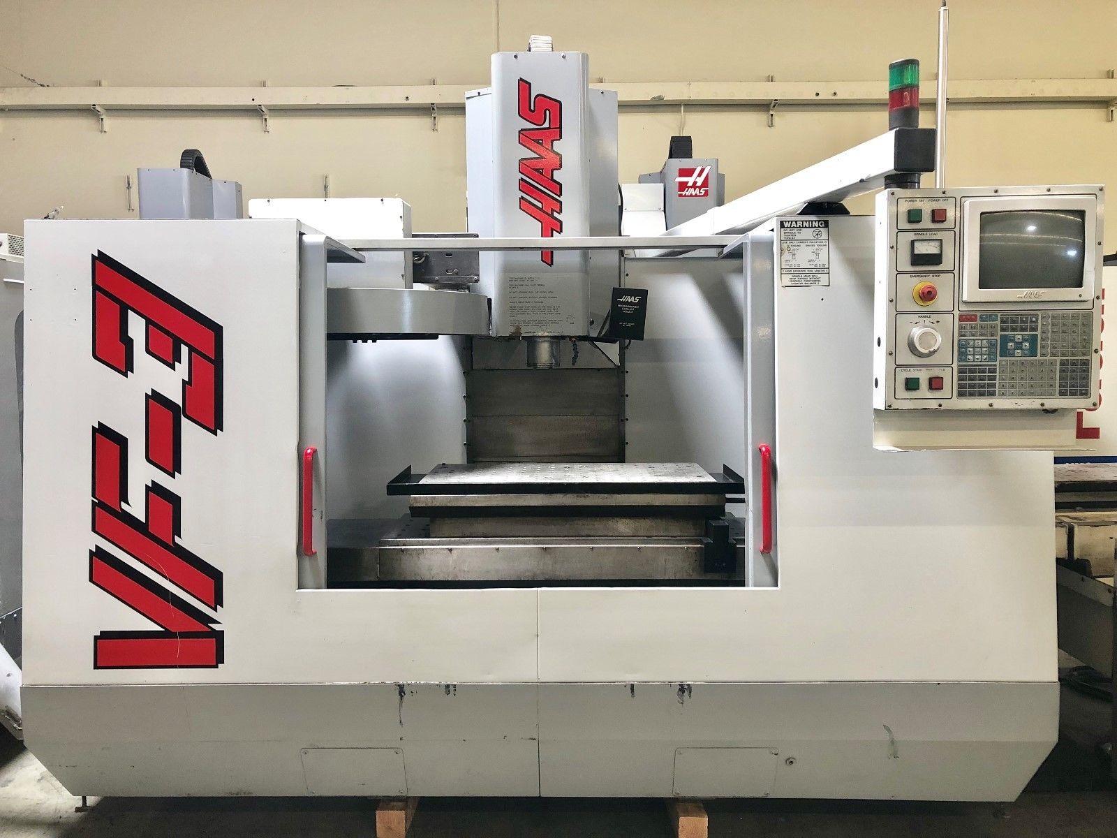 Haas Vf 3 Apc Vertical Machining Center Machinestation