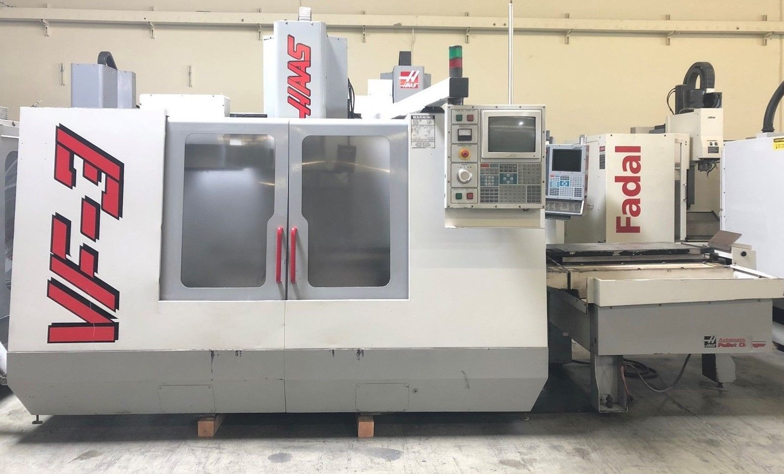 HAAS VF-3 APC Vertical Machining Center - MachineStation Haas Vf Wiring Diagram on haas vf-3yt, haas vf-2tr, haas vf-4, haas vm-3, haas vf-4ss, haas 5 axis,
