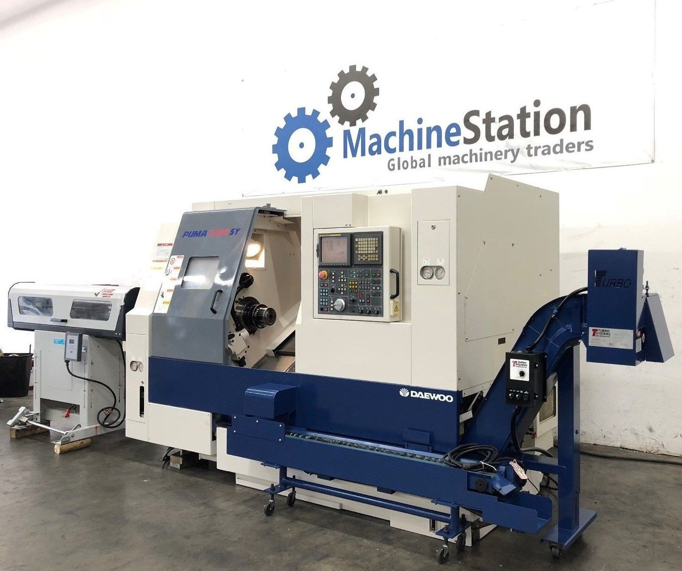Daewoo Puma 2000SY CNC Turn Mill Center - MachineStation