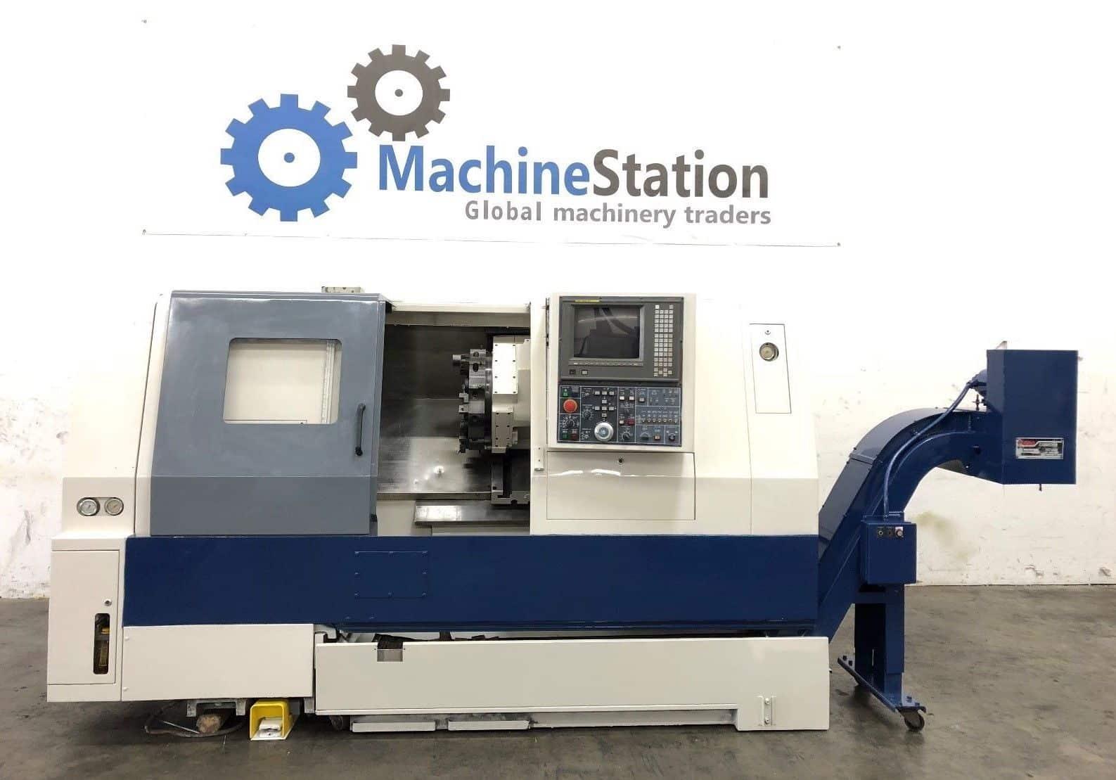 Used Daewoo Puma 250MB CNC Turn Mill for Sale in California USA