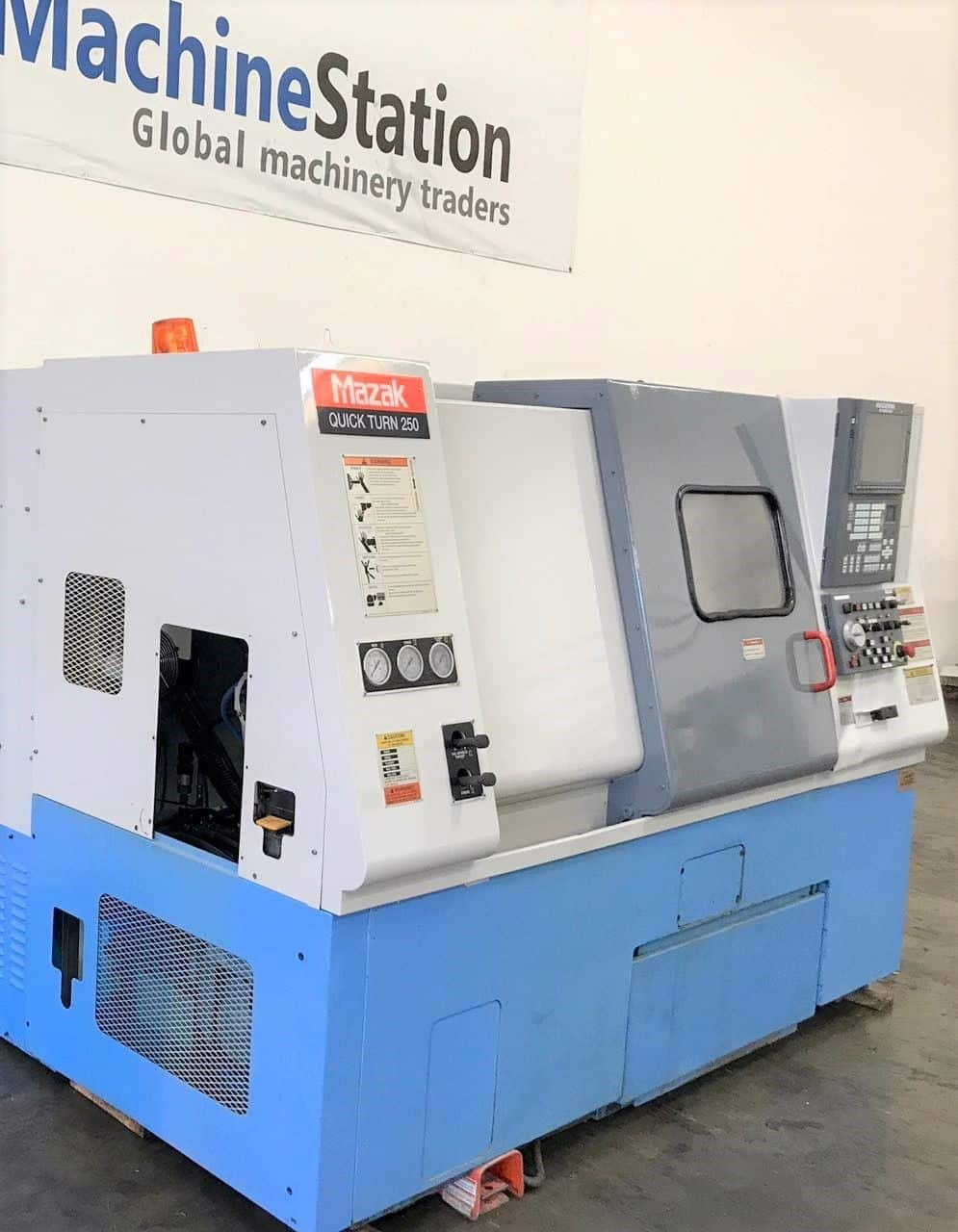 ... Used Mazak QT 250 CNC Turning Center for sale in California  MachineStation b ...