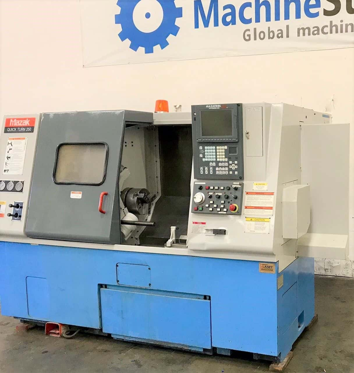 ... Used Mazak QT 250 CNC Turning Center for sale in California  MachineStation c ...