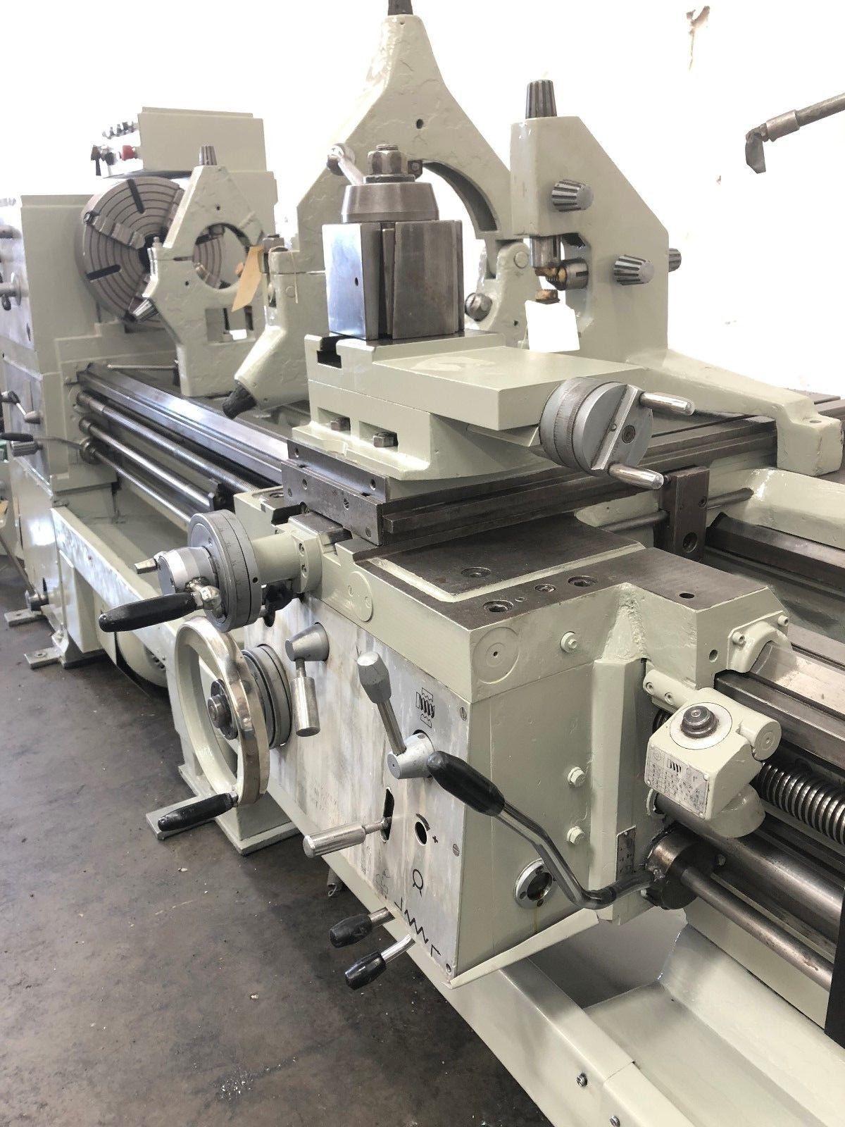wroclaw tur  heavy duty engine lathe machinestation
