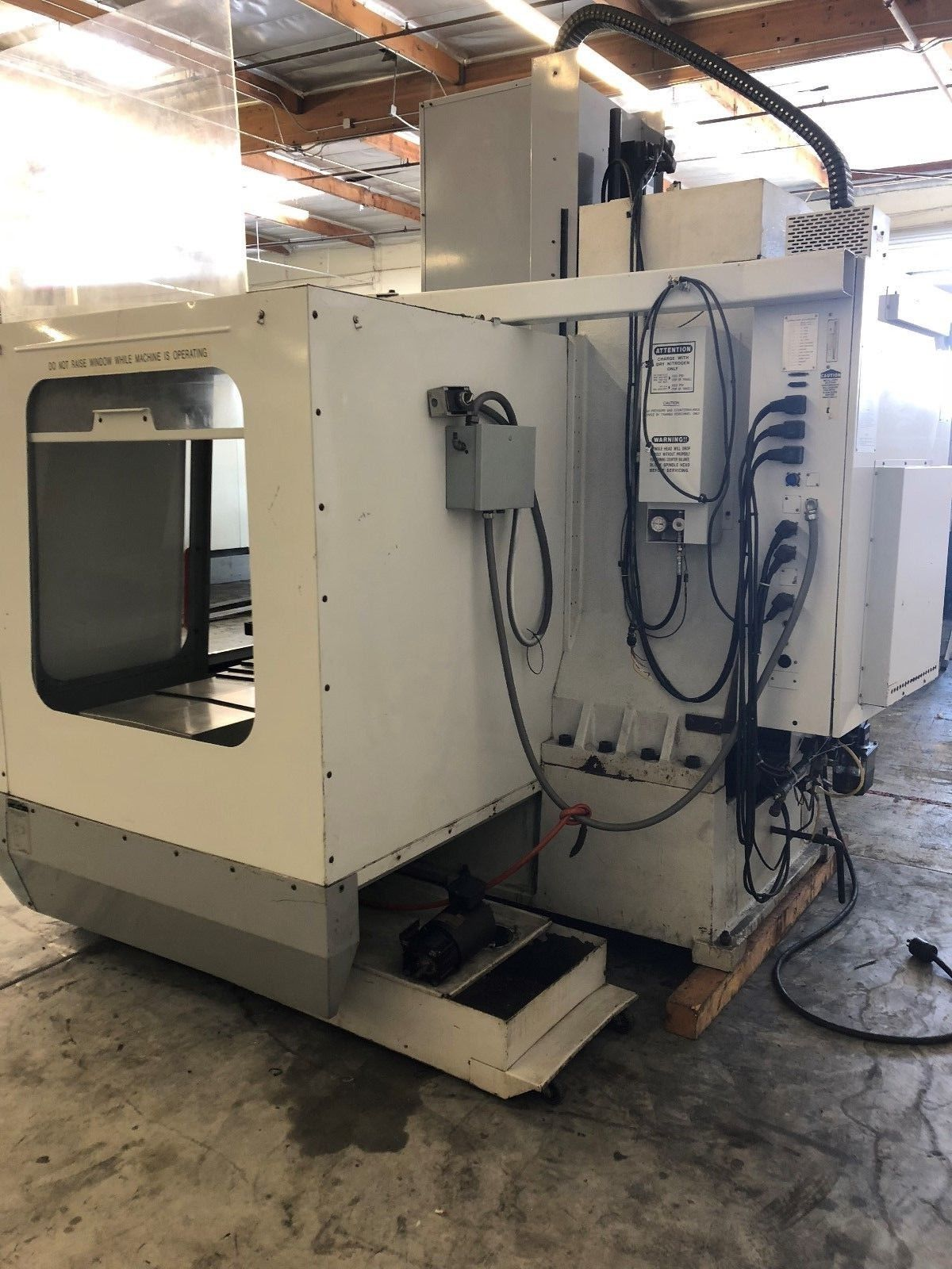 HAAS VF-3 Vertical Machining Center 4TH Axis Gearhead ... Haas Vf Wiring Diagram on