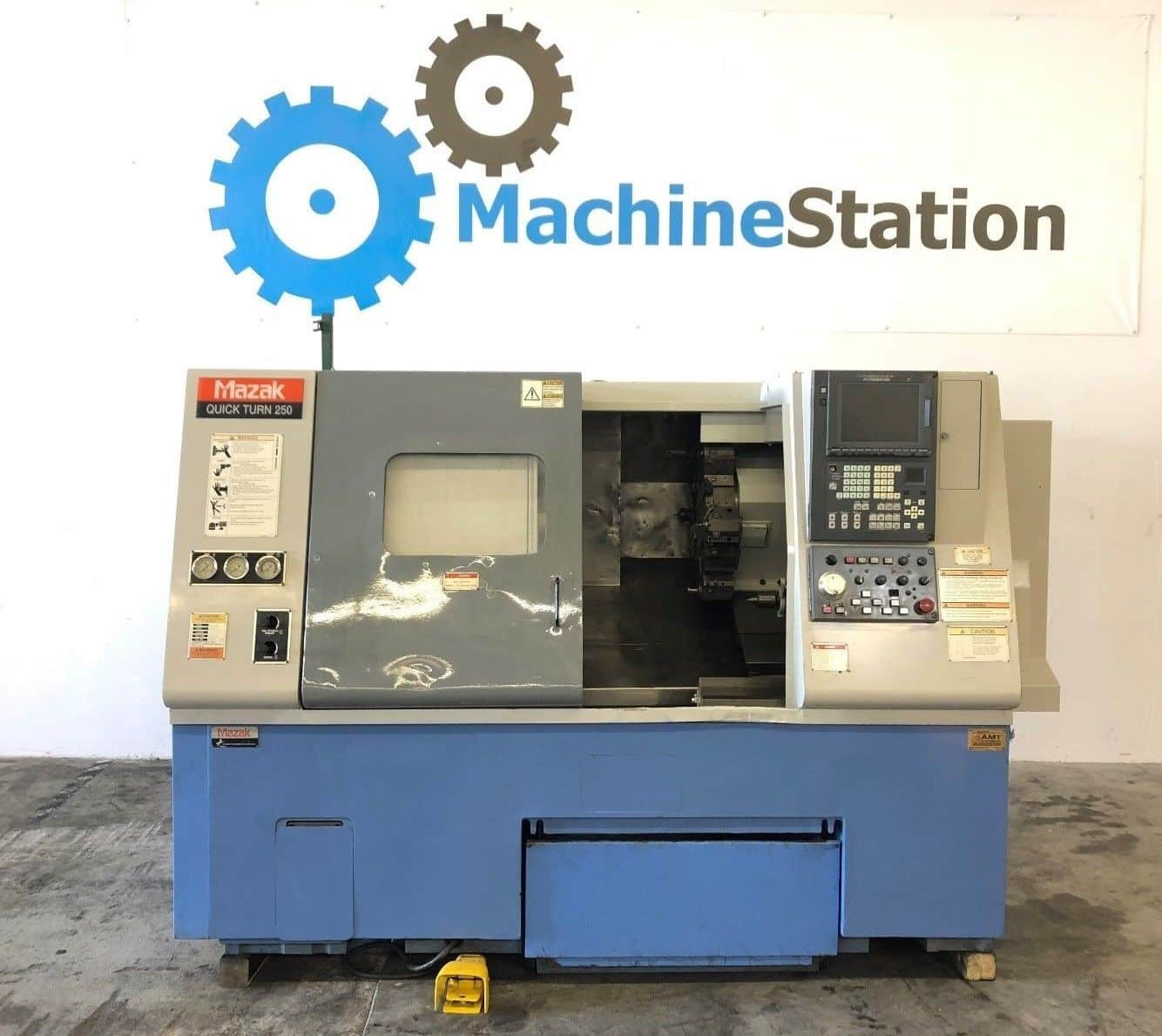 Used Mazak Quick Turn QT 250 CNC Turning for Sale in California