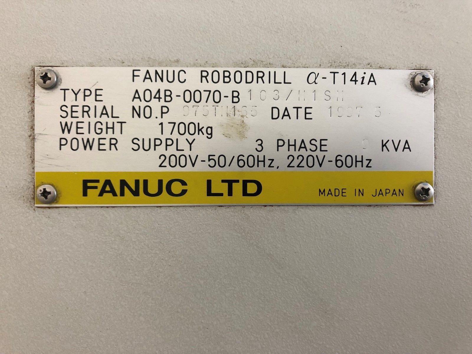 Fanuc RoboDrill α-T14iA Twin Pallet Drill Tap Center - MachineStation